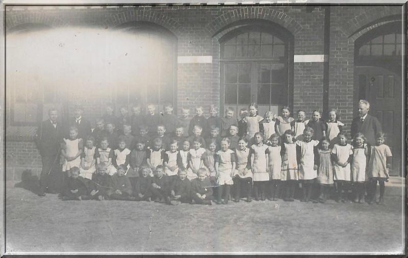 Skoleklasse 1926, foto arkiv.dk