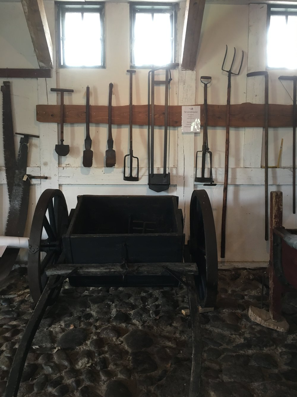 Åbent hus på Corselitze Gods, tørveproduktion som i gamle dage