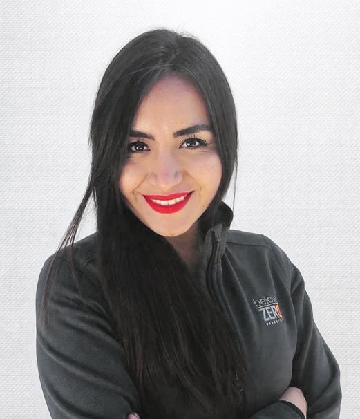 Paola Merino - LOGISTICS & ADMINISTRATIVE COORDINATOR