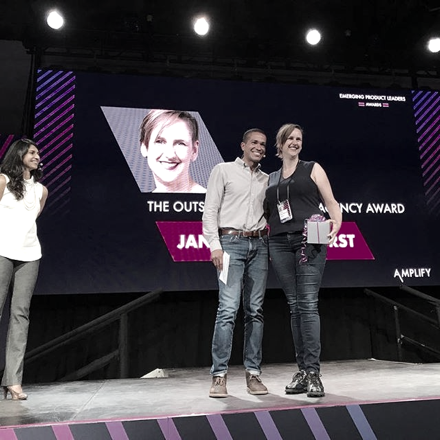 Carbon Five received the Outstanding Product Agency award at Amplify.  Learn more .