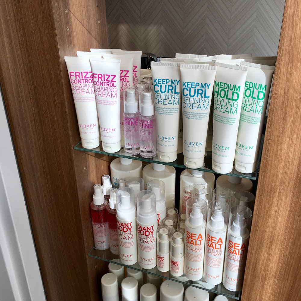Eleven Styling Products available at Portland Street Spa