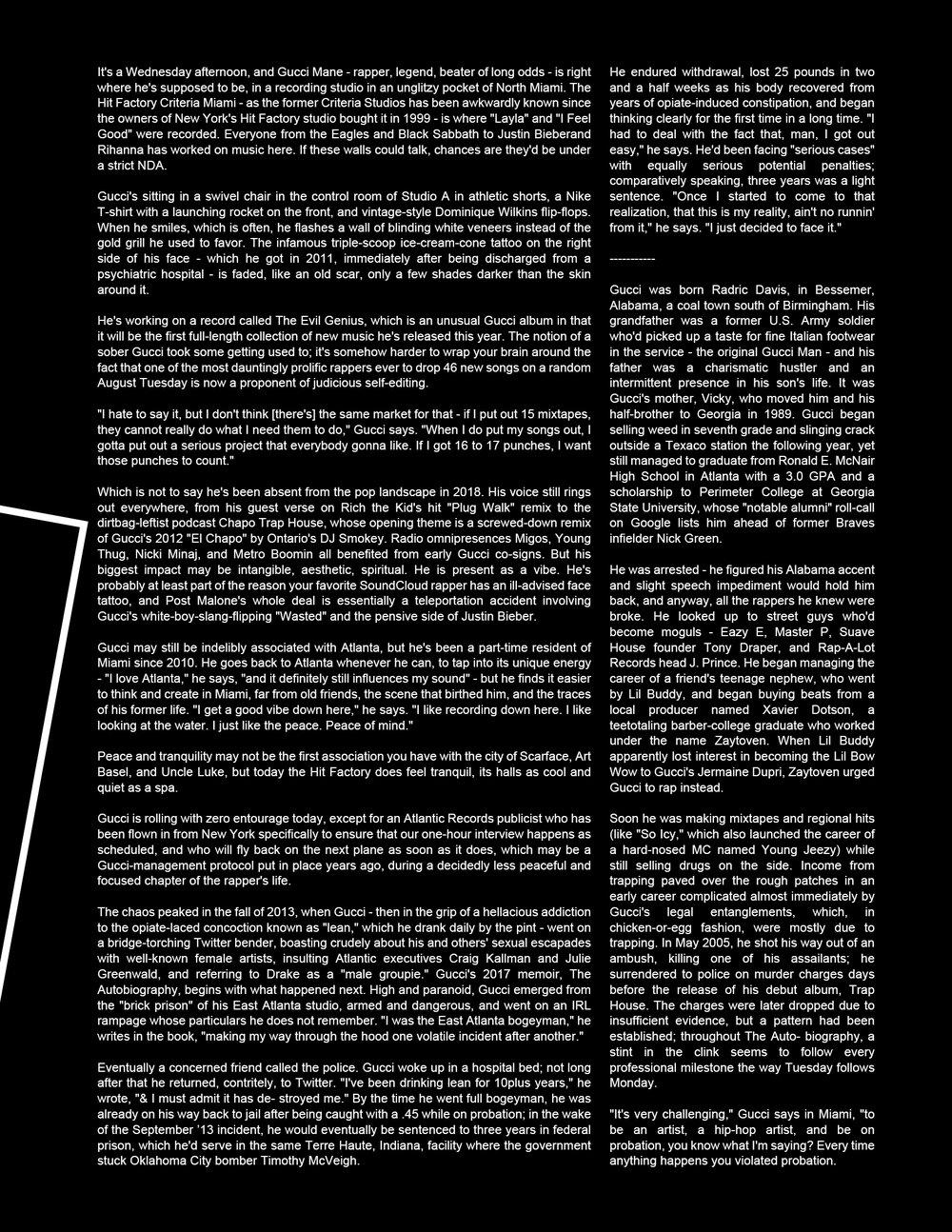 RockLan One Magazine - Gucci Mane