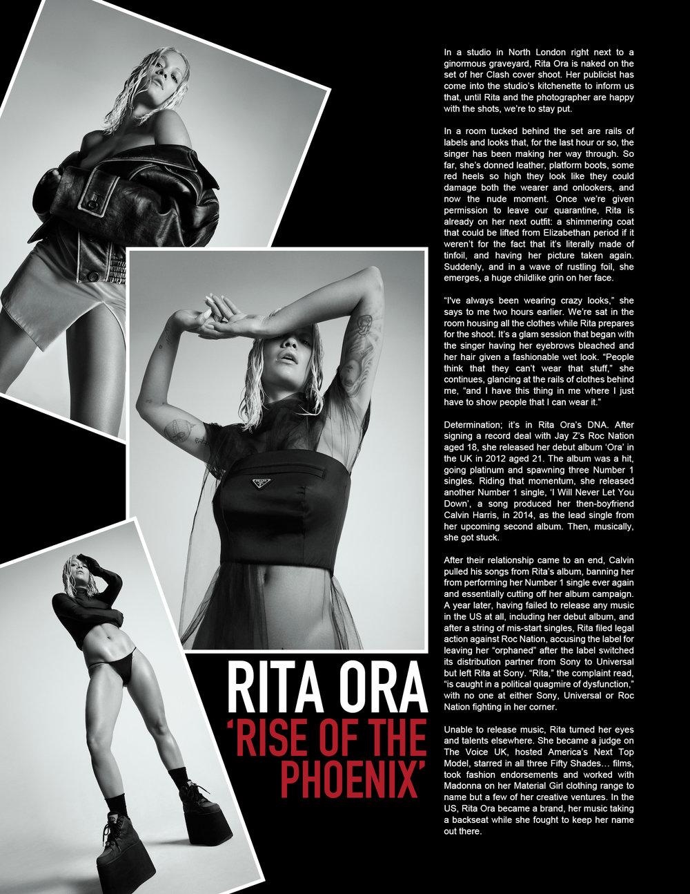 RockLan One Magazine - Rita Ora