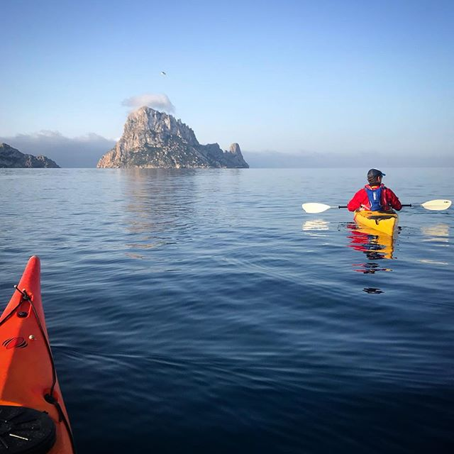 Just love kayaking! Such a great way to see the Ibiza's  coastline.. Shot was taken when I took my 4 day challenge navigating the whole coastline (230km) trekking, cycling and kayaking... Trust us the retreat won't be that challenging, certainly a bit more relaxation to be had! #fitbodyretreats #goodtimes