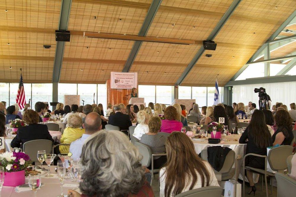 Group Shot of Room & Susan Stiffelman speaking-May 10th CLF 2014 Event.jpg