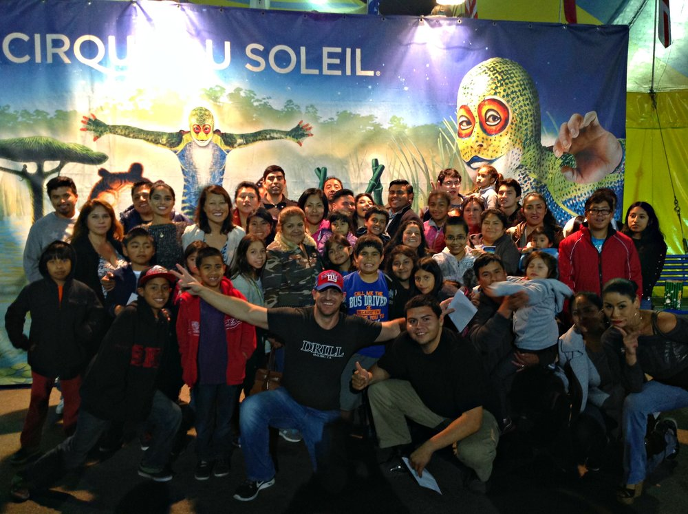 An awesome Cirque du Soleil Field Trip at the Santa Monica Pier!