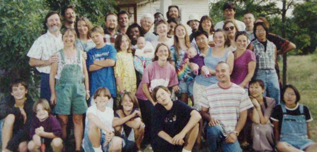 Pellouchoud Family 1998