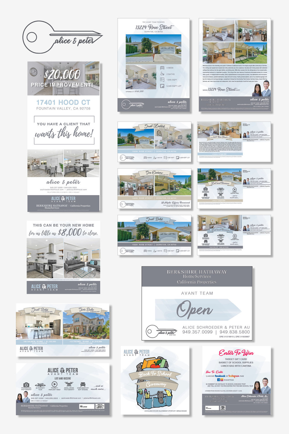 AVANT TEAM   This brand was developed for the Avant Team, a group of REALTORS® in Irvine, California. Their main focus is reaching potential clients through direct mail, and Brand Hatch has helped them accomplish this.
