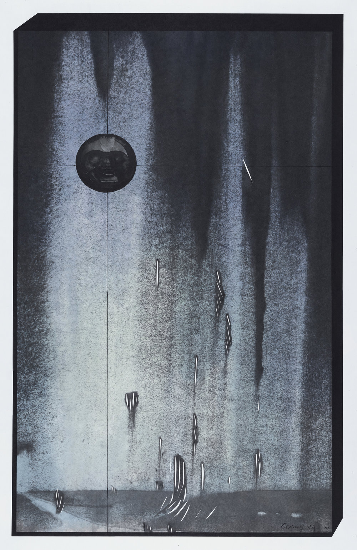 Wang Fei, Exotic-2, 2018, Ink on rice paper, 38x24in.JPG
