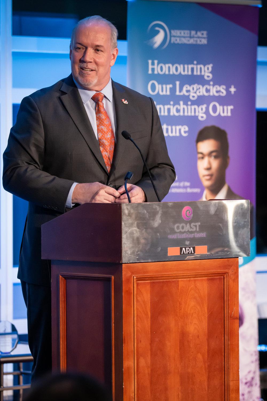 Keynote Speech by Premier John Horgan