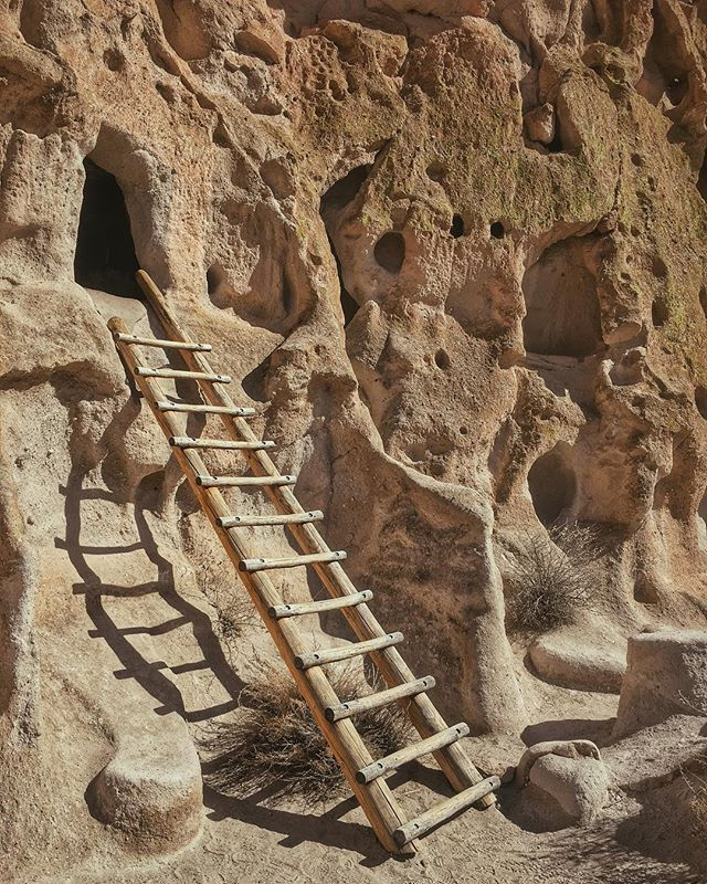 A beautiful morning exploring Bandelier National Monument's cliff dwellings, which were inhabited by the Ancestral Pueblo people for centuries.