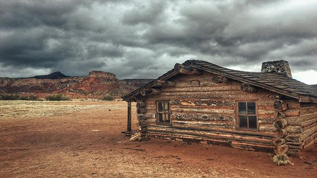 Dramatic skies over Ghost Ranch near Abiquiu, NM.  I can see why Georgia O'Keeffe was so inspired by this area!