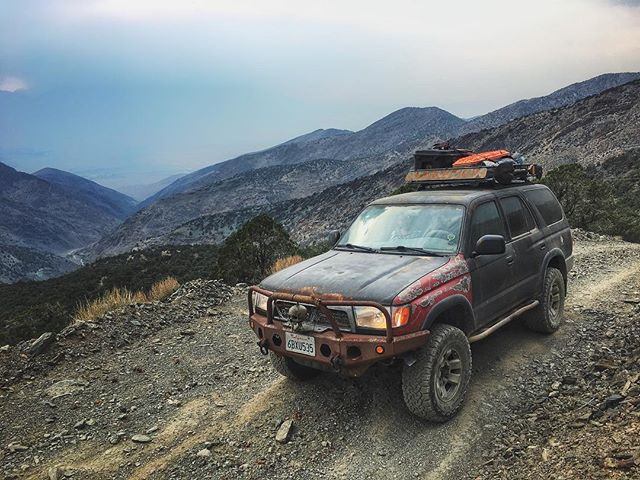 Today marks 3 years since I bought this life-changing car!  This trusty and rusty old 4Runner has made me understand the importance of nature and solitude to me, it's encouraged me to learn valuable mechanical skills, and it's provided wonderful times with good friends.  Here's to many more miles! Pictured: White Mountains overlooking Owens Valley, CA - August 2019