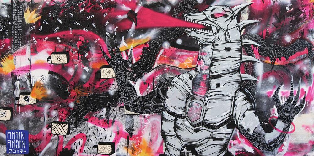 """""""Kaiju"""" — 2017"""