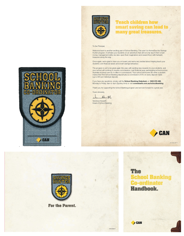 Print collateral supporting the program