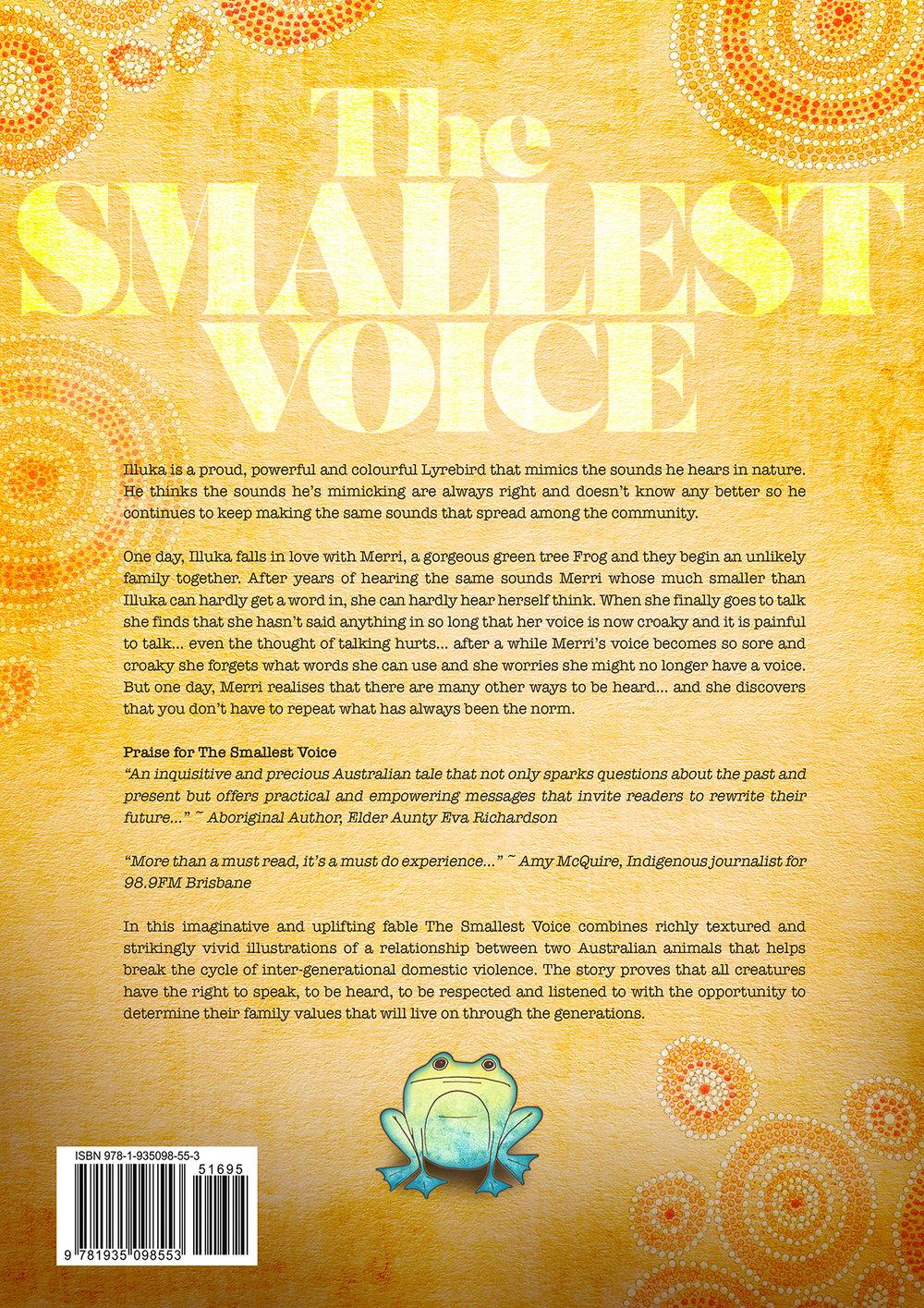 The smallest voice Back.jpg