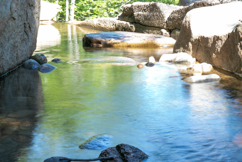 Diana's Baths in the White Mountains in New Hampshire photographed by Vision Balm in Charleston, SC.