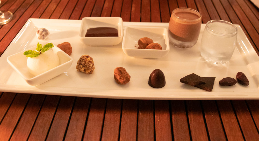 Professional food photo at the Boucan by Hotel Chocolat in St. Lucia by Vision Balm in Charleston, SC.