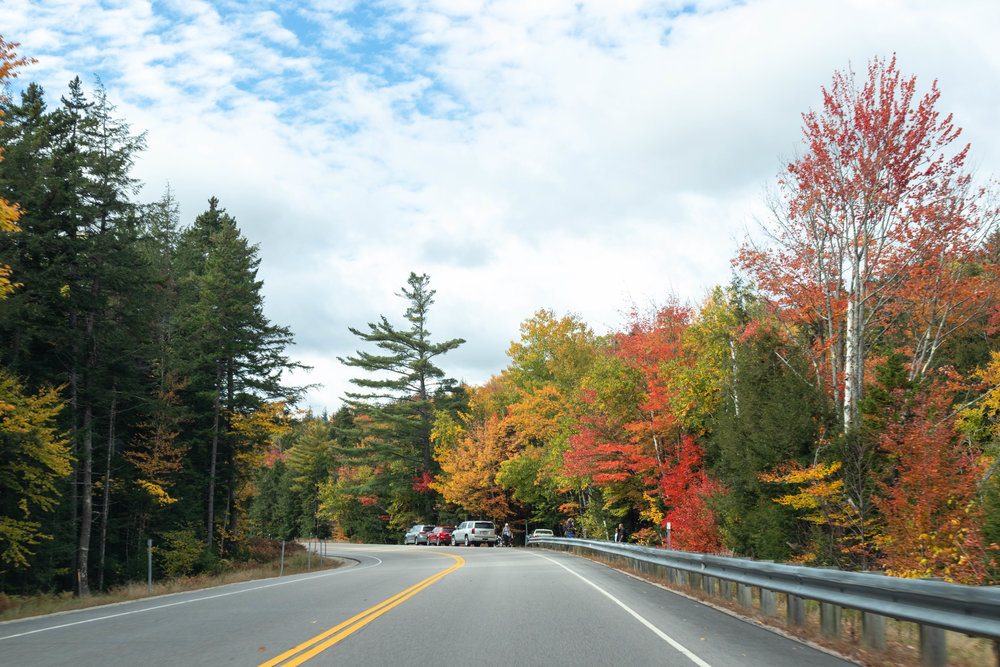 Landscape photography of the White Mountains in North Conway, NH on the Kancamagus Highway photographed by Vision Balm in Charleston, SC.