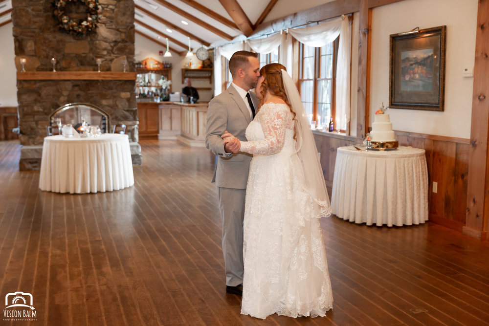 Wedding photographer Charleston, SC Vision Balm: bride and groom first dance