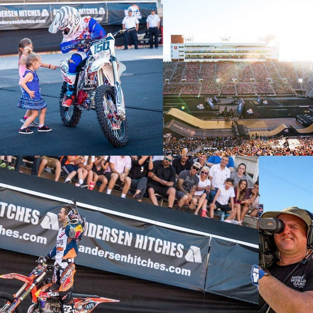 Nitro Circus - A national branding campaign for Nitro Circus and Andersen Hitches. Featuring the 2017 Nitro World Games.