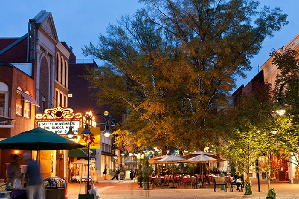 Charlottesville - Get away to the quaint town of Charlottesville — a retreat in and of itself compared to the busy life at home.