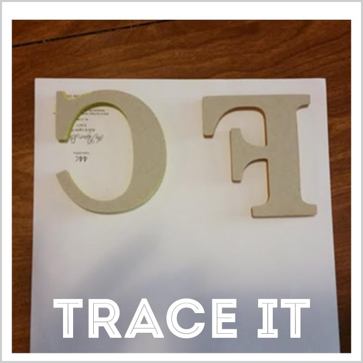 trace it