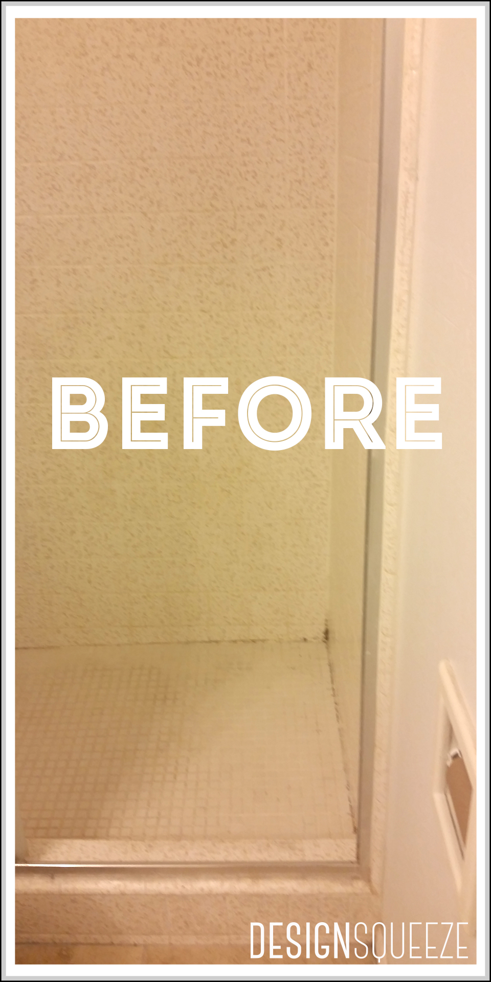 mmmm black mold, we're not gonna miss you.