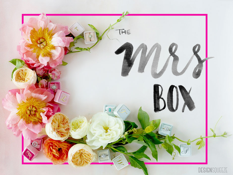 The Mrs Box is the ideal ring box for popping the question.