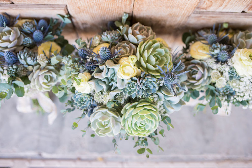 desert wedding with cactus arizona wedding