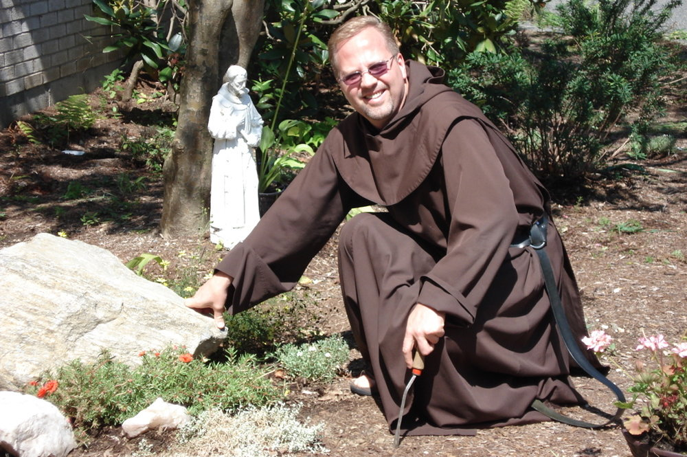 Newfound Responsibility - Leading the monastery, Dennis was responsible for the spiritual and financial needs of the monastery.