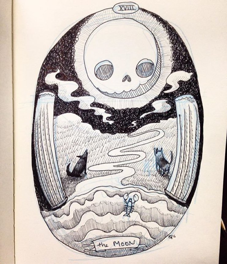 @ooomami 's 'Skeleton Tarot' at @marscafe Futures predicted Friday 6 PM #artbeacondsm by artbeacondsm  http://ift.tt/1nixnNM