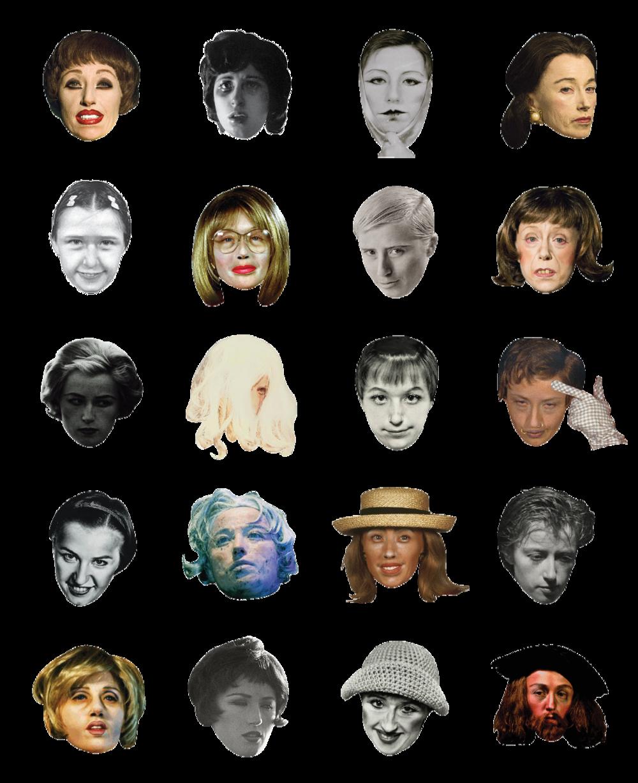 Cindy Sherman emoticons