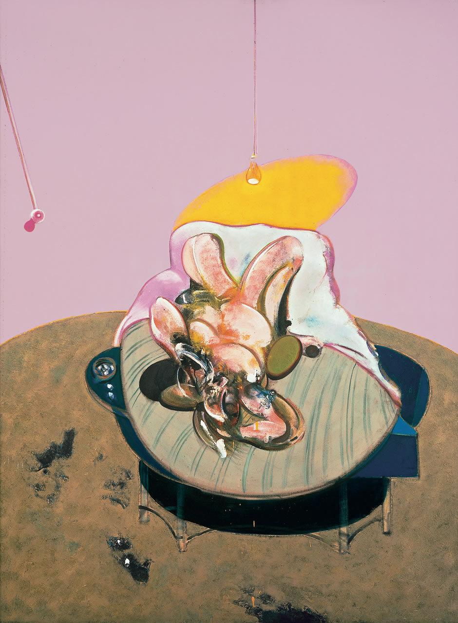 kennethstorey :     Francis Bacon, Lying Figure, Oil on Canvas, 1969