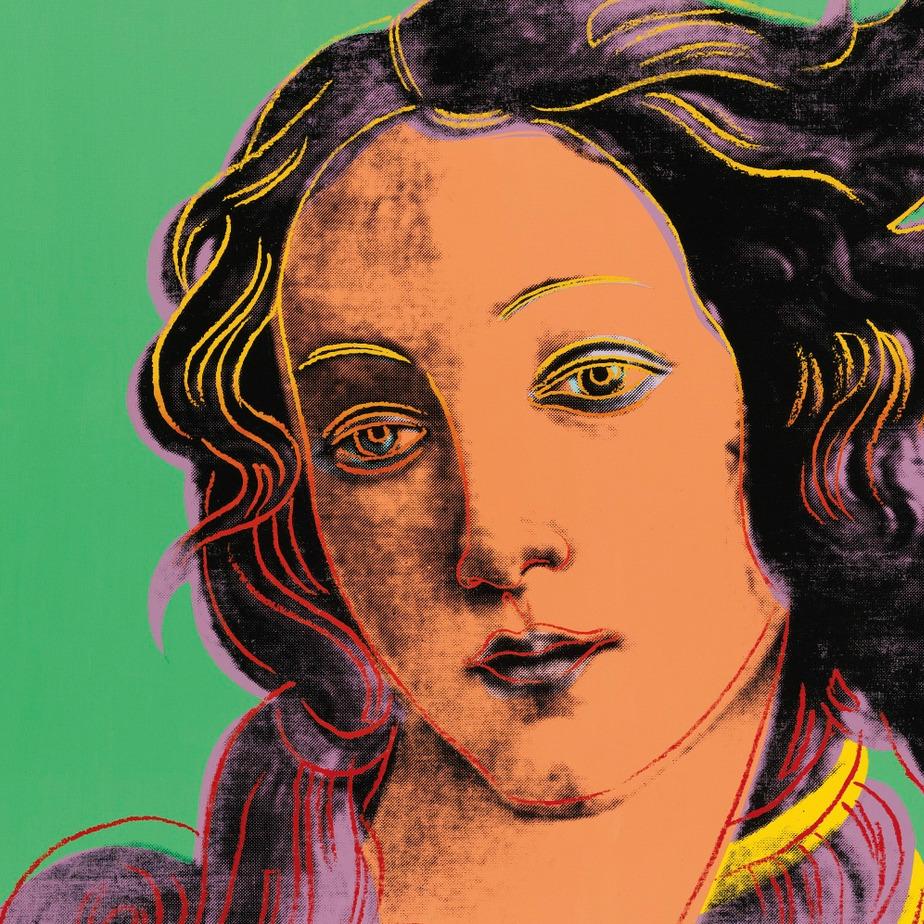 diamondheroes :     Birth Of Venus, Andy Warhol - 1984 (Details)