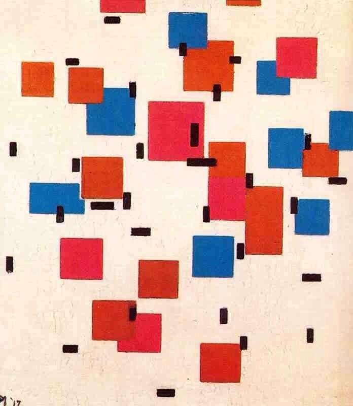 artgods :     Composition in Color A   Piet Mondrian