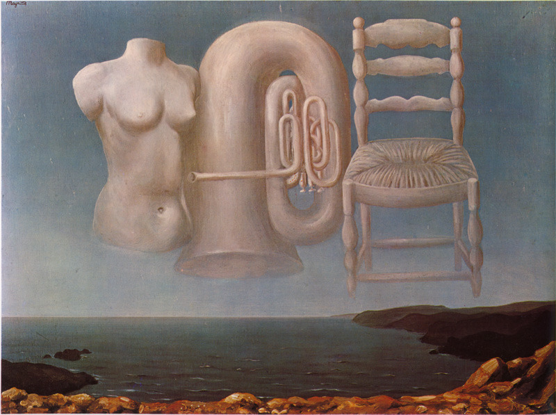 igazie :     Rene Magritte -  Unstable Weather