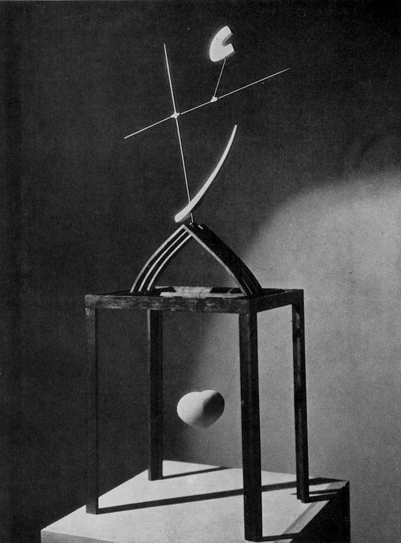 splattergut :     AlbertoGiacometti -  L'Heure des traces , 1930