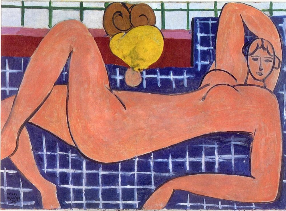 art-and-fury :     Large Reclining Nude (The pink nude) - Henri Matisse