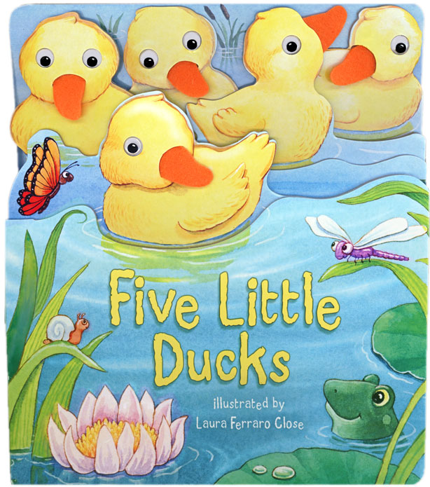 Five Little Ducks illustrated by Laura Ferraro Close