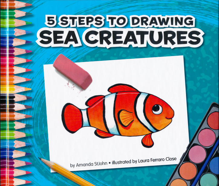 Sea Creatures illustrated by Laura Ferraro Close