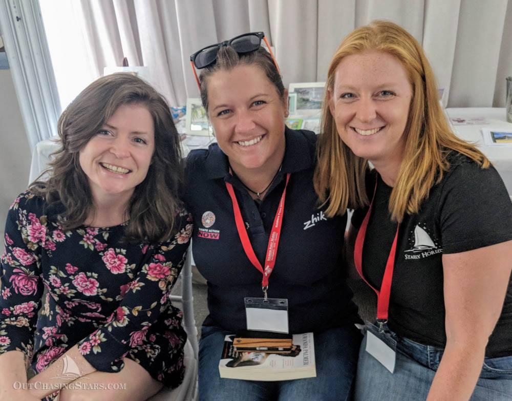 Charlotte Kaufman, Lisa Blair, and Amy Alton. Photo credit: Amy Alton.