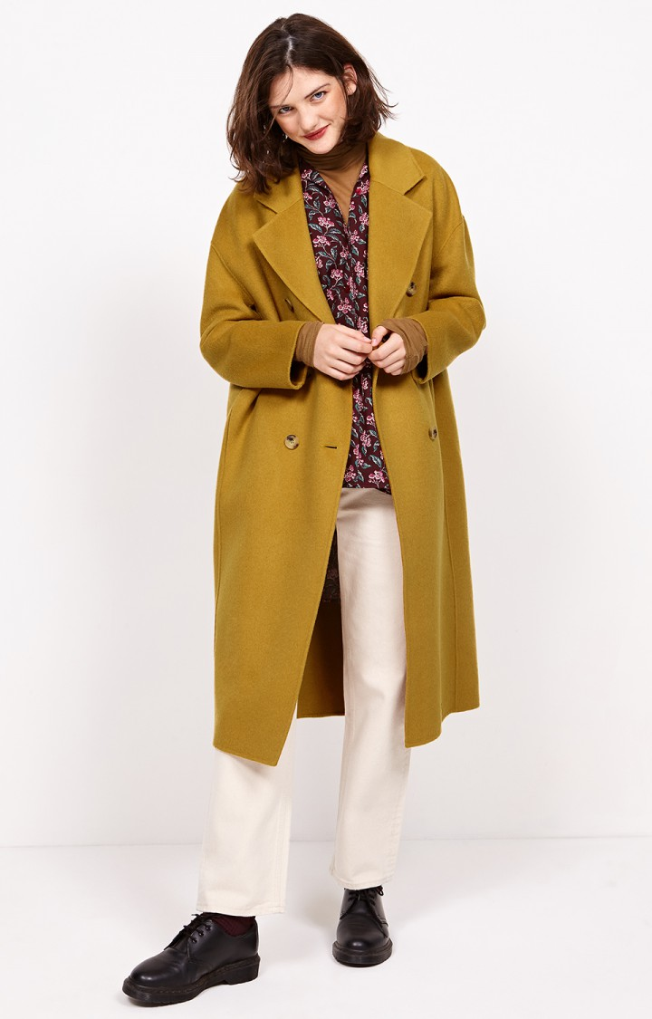 Mustard coat from American Vintage