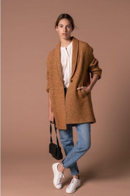 Ocher coat from Pablo