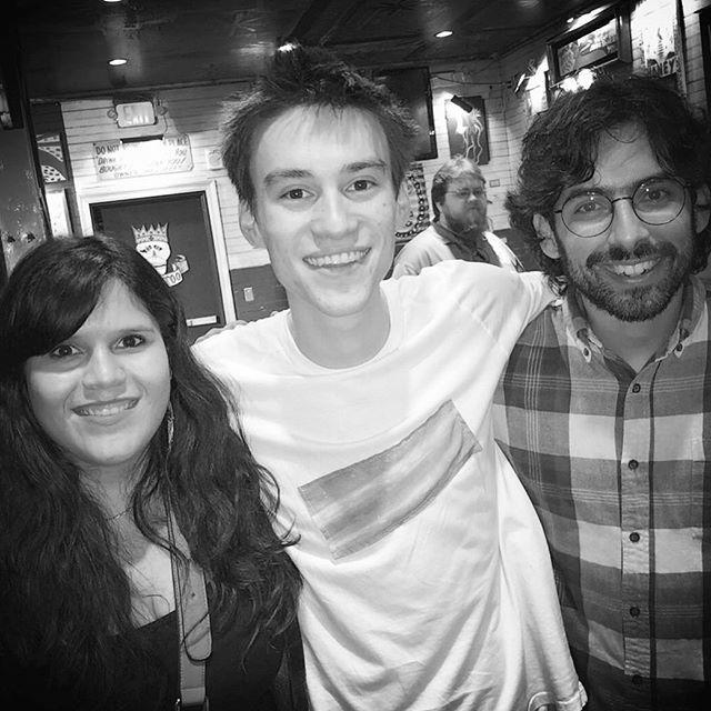 With Jacob Collier. Amazing night. #nola #folk #djessevol2 #cantfreakingwait