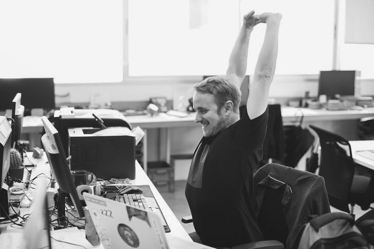 The 9 to 5'er - Sit at a desk behind a computer all day? STRETCH RELIEF can help you improve blood flow, improve your posture, and relieve stress.