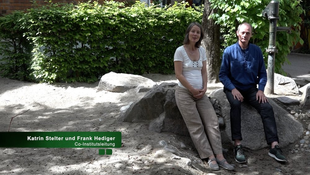 Frank and Katrin (the co-institutionleaders)