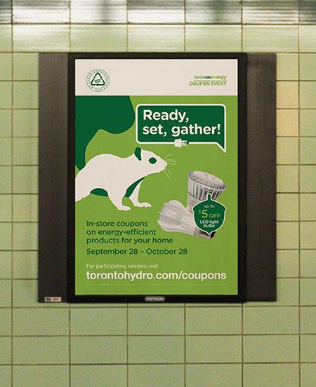 Urban Animals Campaign on the TTC