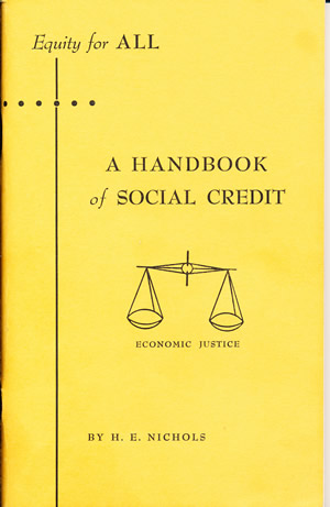 Social Credit's Yellow Pamphlet