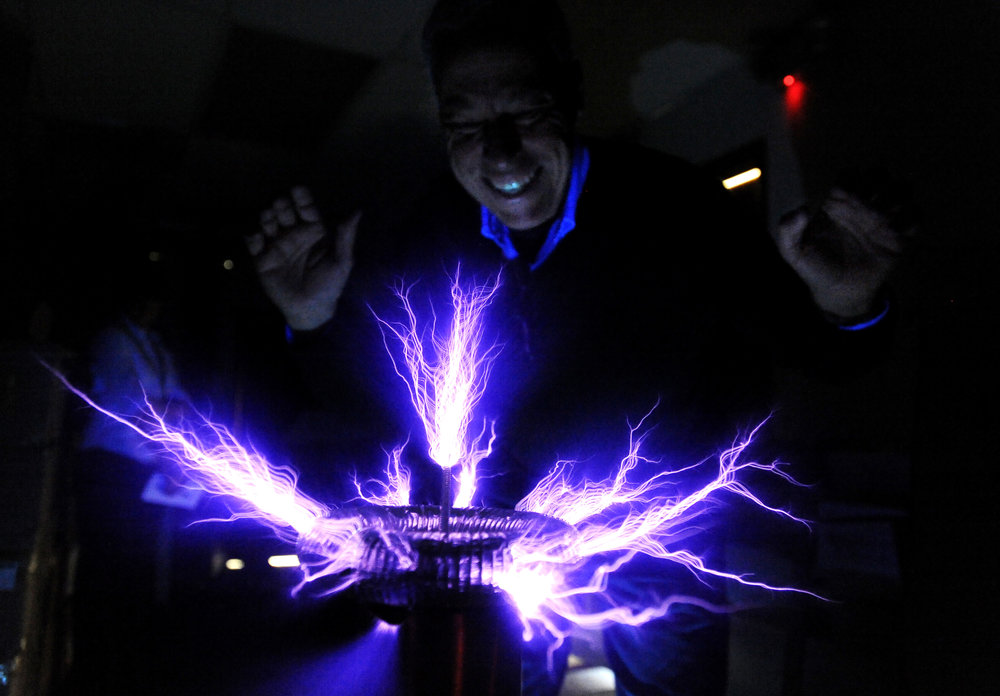 My Tesla coil